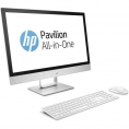 "Ordenador ALL IN ONE HP 24-R076NS CI7 7700T 8GB 2TB + 128GB SSD 23.8"" FHD Dvdrw W10 Silver"
