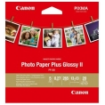Papel Canon Fotografico PP-201 Plus Glossy II 13X13CM 20H
