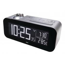 Radio Despertador Balance Controlled Alarm Clock Silver/Black