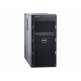 Servidor Dell Poweredge T130 Xeon E3-1220V6 8GB 2X1TB G200 290W Dvdrw