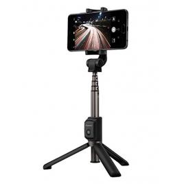 Soporte Selfie Huawei Bxhuaf15 con Disparador Black