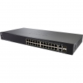 Switch Cisco SG 250-24P 10/100/1000 24 Puertos POE+ + 2Gigabit SFP