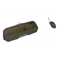Teclado + Mouse Krom Gaming Kodex Black/Orange