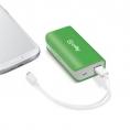 Bateria Externa Universal Celly 4.000MAH USB Green