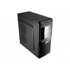 Caja Mediatorre ATX Aerocool PGS V3X Advance Black/Blue USB 3.0