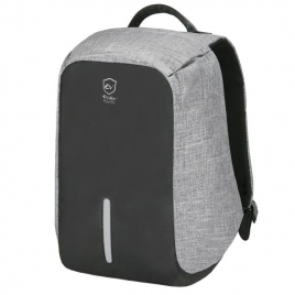 "Mochila Portatil E-VITTA 16"" Antitheft USB Black/Grey"