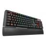 Teclado Krom Gaming Kael RGB Mecanico Retroiluminado USB Black