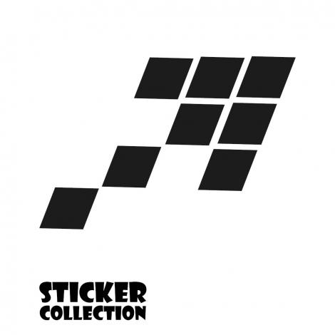Sticker Adhesivo para Tablet HT Arrow Black