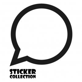 Sticker Adhesivo para Tablet HT Balloon Black