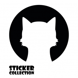 Sticker Adhesivo para Tablet HT CAT Black