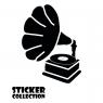Sticker Adhesivo para Tablet HT Gramophone M Black