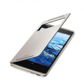 Funda Movil Acer Filpcover Silver para Acer Z500