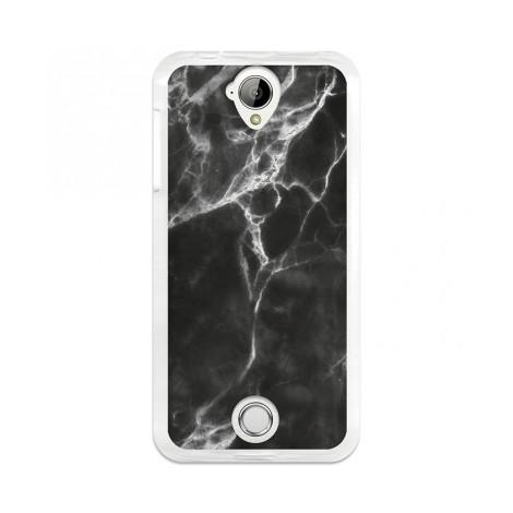 Funda Movil Back Cover Becool GEL Marble Black/White Acer Liquid Z330