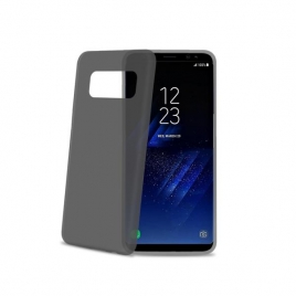 Funda Movil Back Cover Celly Frost Black para Samsung Galaxy S8