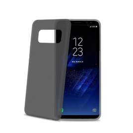 Funda Movil Back Cover Celly Frost Black para Samsung Galaxy S8+