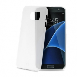 Funda Movil Back Cover Celly Frost White para Galaxy S7 Edge