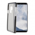 Funda Movil Back Cover Celly Hexagon Transparente/Black para Samsung S9+