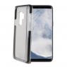 Funda Movil Back Cover Celly Hexagon Transparente/Black para Samsung S9+