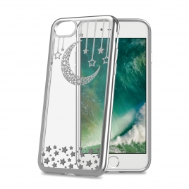 Funda Movil Back Cover Celly Laser Transparente Moon para iPhone 7/8
