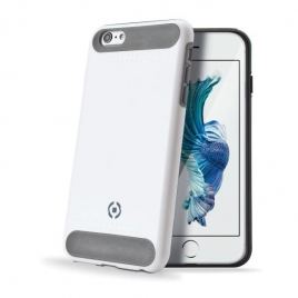 Funda Movil Back Cover Celly Rock White para iPhone 6/6S Plus