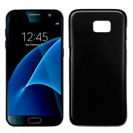 Funda Movil Back Cover HT Silicona Black Galaxy S7