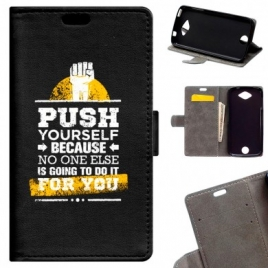 Funda Movil Becool Push Yourself Acer Liquid Z530