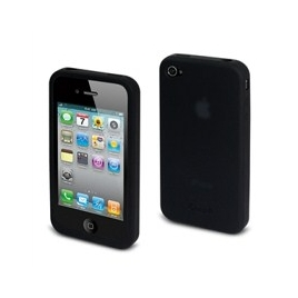 Funda Movil iPhone 4 Crubber Silicona Black