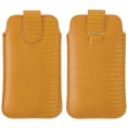 Funda Movil Universal HT PULL-UP Bestyle MAX Yellow para iPhone 5/5S/5C