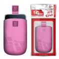 Funda Movil Universal HT PULL-UP XL Squares Pink