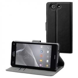 Funda Movil Wallet Folio Sony Ericsson Xperia Z3 Compact Black