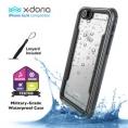 Funda Movil X-DORIA Defense H2O para iPhone 6/6S Grey