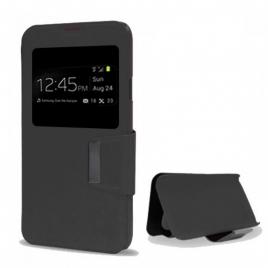 "Funda Movil X-ONE Wallet Folio Black Alcatel Pixi 4 5"" 4G"