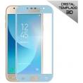 Protector de Pantalla HT Cristal Templado 3D Blue para Samsung J330 Galaxy J3 2017