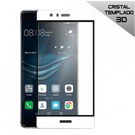 Protector de Pantalla HT Cristal Templado 3D White para Huawei P9 Plus
