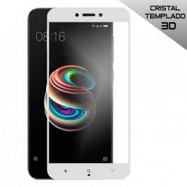 Protector de Pantalla HT Cristal Templado 3D White para Xiaomi Redmi 5A