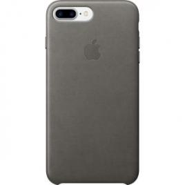 Funda iPhone 7 Plus Apple Leather Case Storm Gray