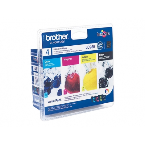 Cartucho Brother LC980 Multipack 145/165C/250C/290C