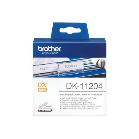 Etiquetas Brother 400U/Rollo 17X54MM