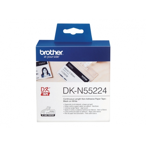 Etiquetas Brother Continua White 54MM X 30.48M