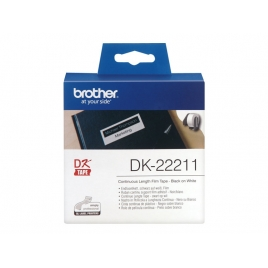 Etiquetas Brother White 29MM X 15.24M Continuo QL500 QL550