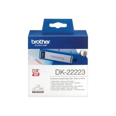 Etiquetas Brother White 50MM X 30.5M Continuo QL1050 QL1060