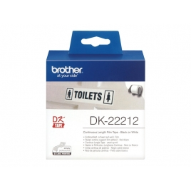Etiquetas Brother White 62MM X 15.24M Continuo QL500 QL550