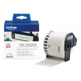 Etiquetas Brother White 62MM X 30.48M Continuo QL500 QL550 QL560
