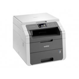 Impresora Brother Multifuncion Laser Color DCP-9015CDW 18PPM A4 WIFI USB