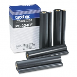 Recambio Brother 4 Bobinas para FAX 1020/Plus/1020E/30E