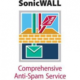 Servicio Sonicwall Comprehensive ANTI-SPAM para TZ 210 1 año