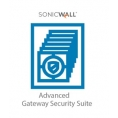 Servicio Sonicwall Gateway Security Advanced Suite para TZ300 Series 1 año