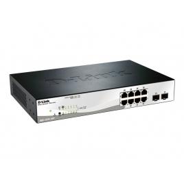 Switch D-LINK DGS-1210-10P 10/100/1000 8 Puertos POE + 2 SFP