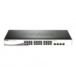 Switch D-LINK DGS-1210-24P 10/100/1000 24 Puertos + 4 Gigabit POE 1U