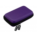 "Funda Disco Duro E-VITTA Carbon Fiber 2.5"" Purple"